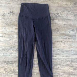 Aerie short navy leggings